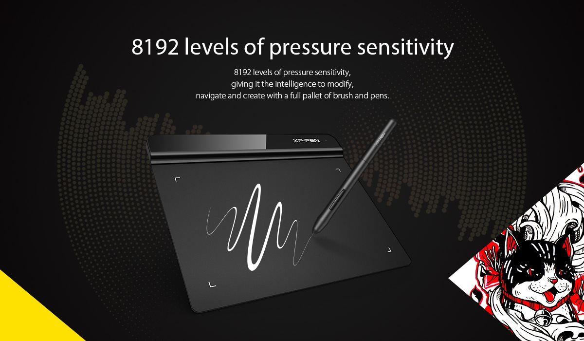 Star G640 Sketch OSU Graphic Design Tablet | XP-Pen Official