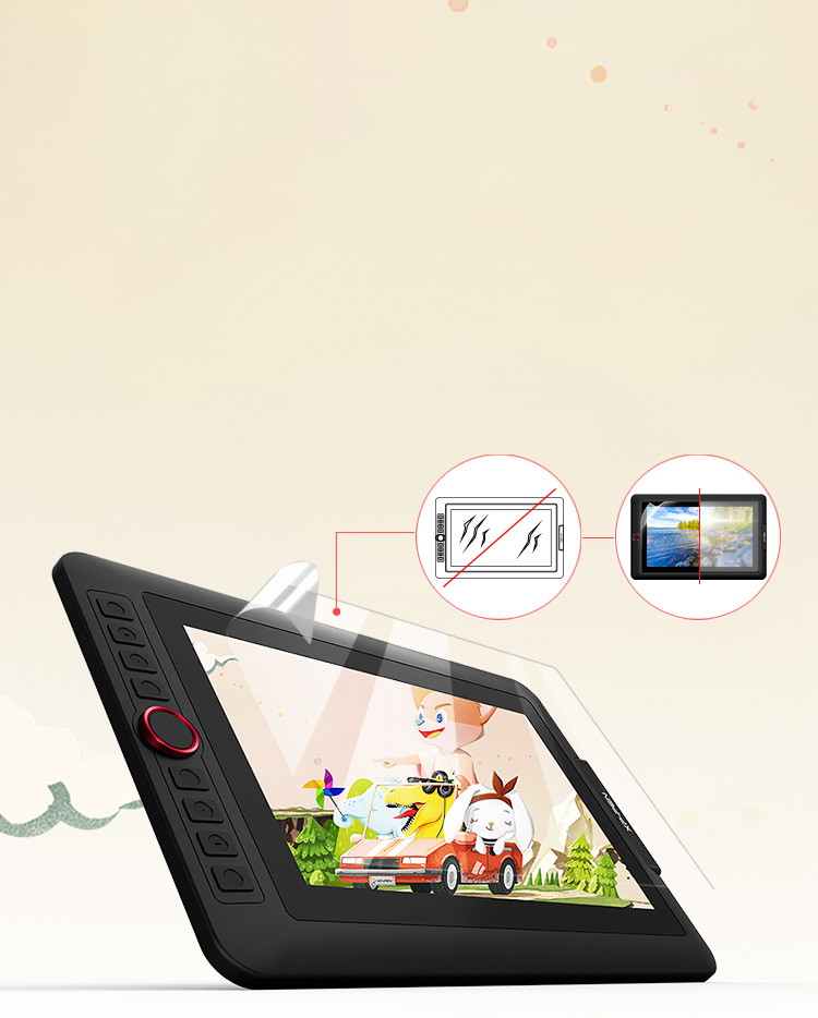 Artist 12 Pro Best Budget Laminated Pen Display Tablet