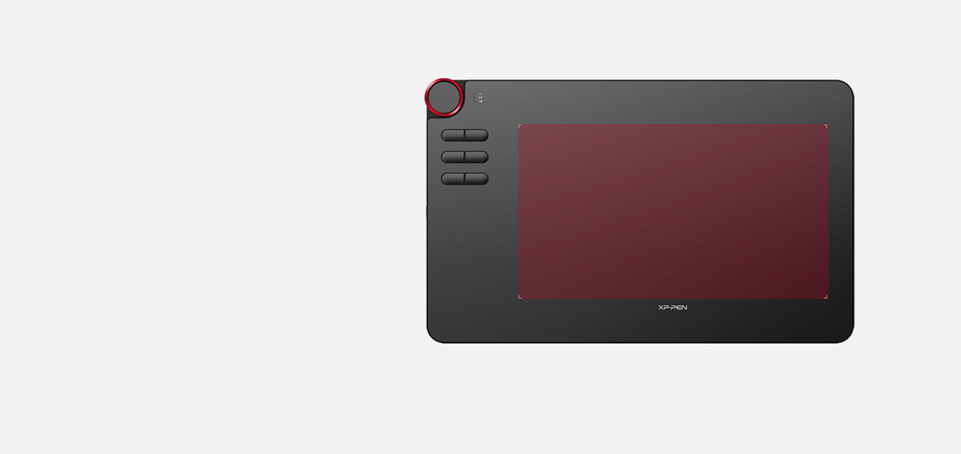graphic tablet XP-Pen Deco 03 comes with 10 x 5.62 inches working area