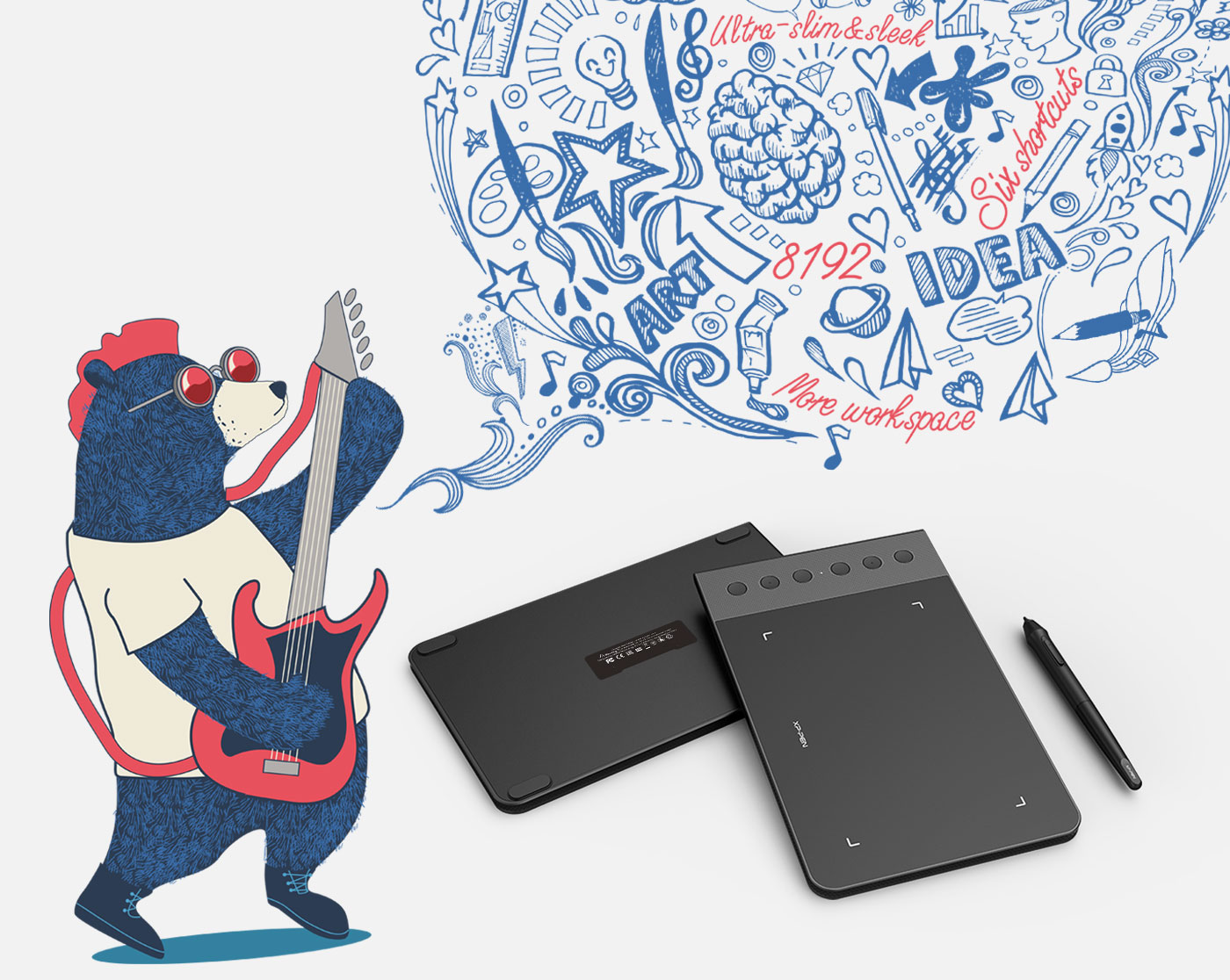 XP-Pen Star G640S digital drawing tablet